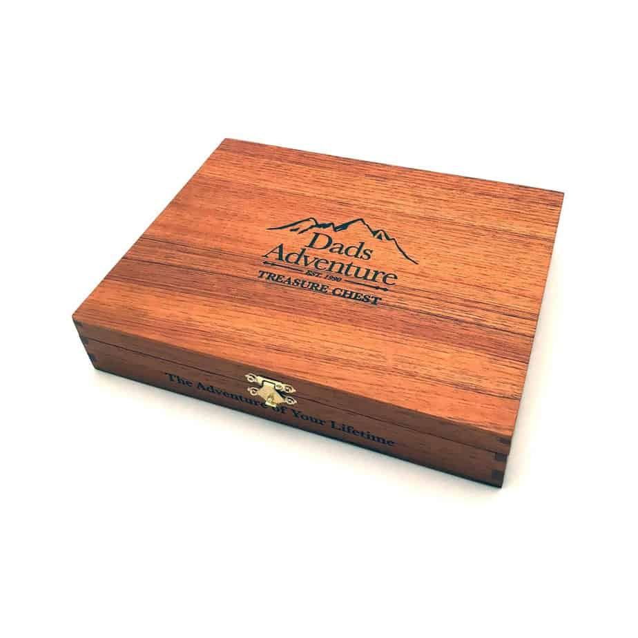 gift for dad - treasure chest