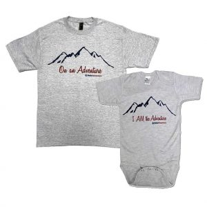 Adventure T-shirt & Onesie Set