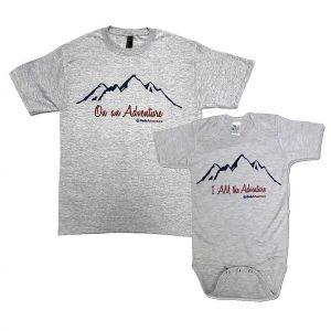 Adventure T-shirt & Onesie Set